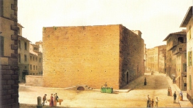Carcere-delle-Stinche_by_Fabio_Borbottoni_1820-1902_22