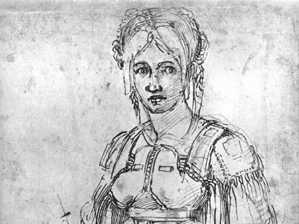 michelangelo-disegnoVittoria_Colonna