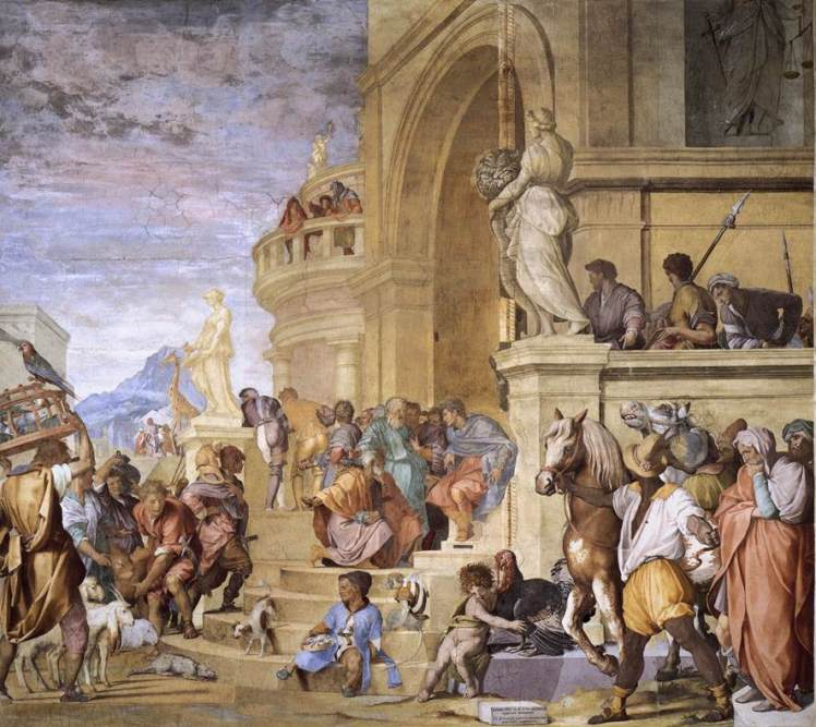 vill aff Andrea_del_Sarto_-_Triumph_of_Caesar_-_WGA00382
