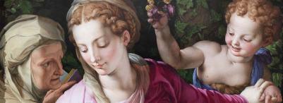 a Bronzino-Madonna-con-Bambino-sala-della-Apoteosi