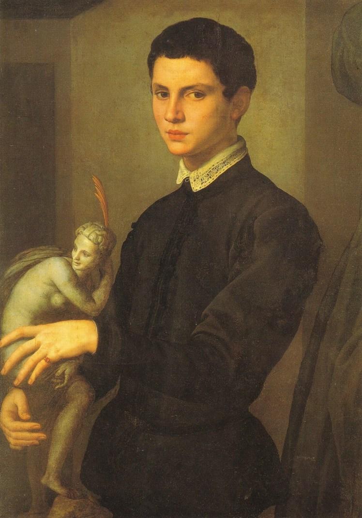 AA - Bronzino - Ritratto di scultore