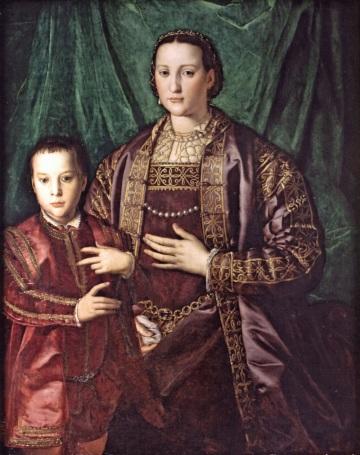 16 Agnolo_Bronzino_-_Eleonora_di_Toledo_with_her_son_Francesco - Copia